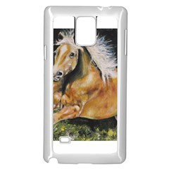 Mustang Samsung Galaxy Note 4 Case (White)