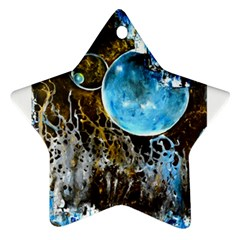 Space Horses Ornament (star)