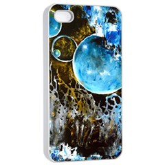 Space Horses Apple iPhone 4/4s Seamless Case (White)