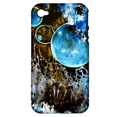 Space Horses Apple Iphone 4/4s Hardshell Case (pc+silicone)