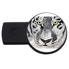 The Eye Of The Tiger Usb Flash Drive Round (2 Gb)