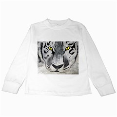 The Eye Of The Tiger Kids Long Sleeve T-Shirts