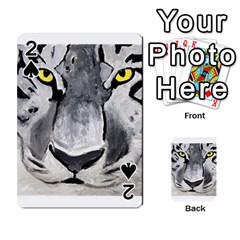 The Eye Of The Tiger Playing Cards 54 Designs