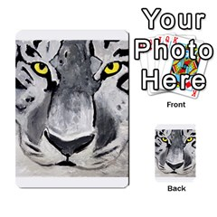 The Eye Of The Tiger Multi Purpose Cards (rectangle)