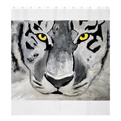The Eye Of The Tiger Shower Curtain 66  x 72  (Large)
