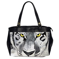 The Eye Of The Tiger Office Handbags (2 Sides)