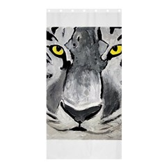 The Eye Of The Tiger Shower Curtain 36  x 72  (Stall)