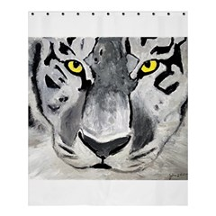 The Eye Of The Tiger Shower Curtain 60  x 72  (Medium)