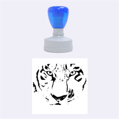 The Eye Of The Tiger Rubber Round Stamps (Medium)