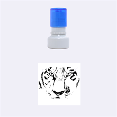 The Eye Of The Tiger Rubber Round Stamps (small)
