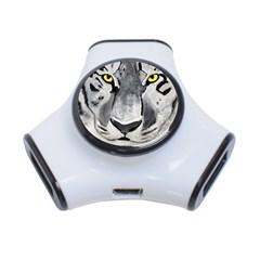 The Eye Of The Tiger 3 Port Usb Hub