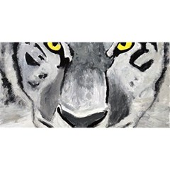The Eye Of The Tiger YOU ARE INVITED 3D Greeting Card (8x4)