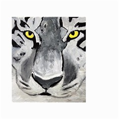 The Eye Of The Tiger Small Garden Flag (Two Sides)