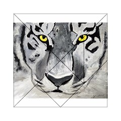 The Eye Of The Tiger Acrylic Tangram Puzzle (6  x 6 )