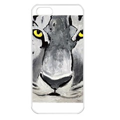 The Eye Of The Tiger Apple Iphone 5 Seamless Case (white)