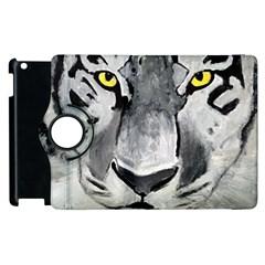 The Eye Of The Tiger Apple Ipad 3/4 Flip 360 Case