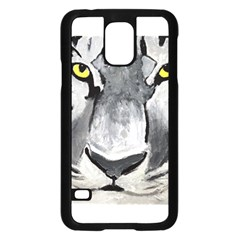 The Eye Of The Tiger Samsung Galaxy S5 Case (Black)