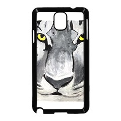 The Eye Of The Tiger Samsung Galaxy Note 3 Neo Hardshell Case (black)