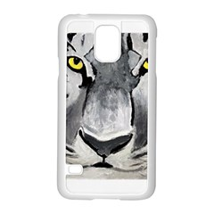 The Eye Of The Tiger Samsung Galaxy S5 Case (white)