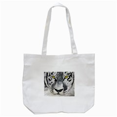 The Eye Of The Tiger Tote Bag (White)