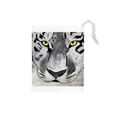 The Eye Of The Tiger Drawstring Pouches (small)