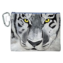 The Eye Of The Tiger Canvas Cosmetic Bag (XXL)