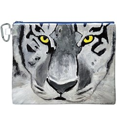 The Eye Of The Tiger Canvas Cosmetic Bag (XXXL)