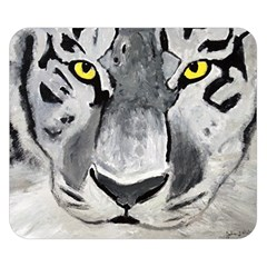 The Eye Of The Tiger Double Sided Flano Blanket (small)