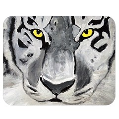 The Eye Of The Tiger Double Sided Flano Blanket (medium)