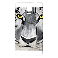 The Eye Of The Tiger Galaxy Note 4 Back Case