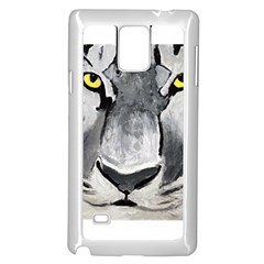 The Eye Of The Tiger Samsung Galaxy Note 4 Case (White)