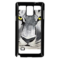 The Eye Of The Tiger Samsung Galaxy Note 4 Case (Black)