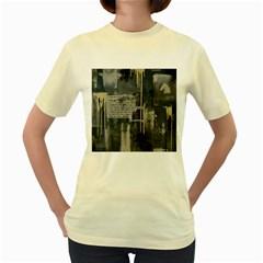 The Dutiful Rise Women s Yellow T-Shirt