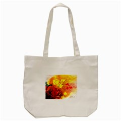 Fire, Lava Rock Tote Bag (Cream)