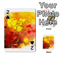 Fire, Lava Rock Playing Cards 54 Designs