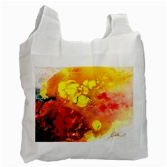 Fire, Lava Rock Recycle Bag (one Side)