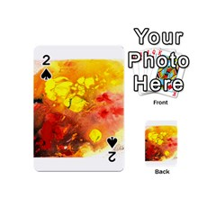 Fire, Lava Rock Playing Cards 54 (mini)