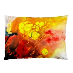 Fire, Lava Rock Pillow Cases (Two Sides)