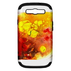 Fire, Lava Rock Samsung Galaxy S Iii Hardshell Case (pc+silicone)