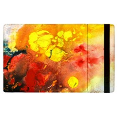 Fire, Lava Rock Apple Ipad 3/4 Flip Case