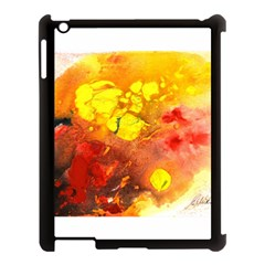 Fire, Lava Rock Apple Ipad 3/4 Case (black)