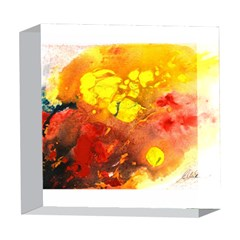 Fire, Lava Rock 5  x 5  Acrylic Photo Blocks