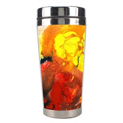 Fire, Lava Rock Stainless Steel Travel Tumblers