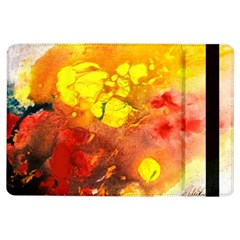 Fire, Lava Rock iPad Air Flip