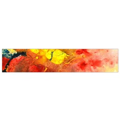 Fire, Lava Rock Flano Scarf (small)