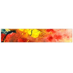Fire, Lava Rock Flano Scarf (Large)