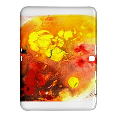Fire, Lava Rock Samsung Galaxy Tab 4 (10.1 ) Hardshell Case