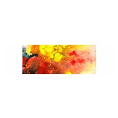 Fire, Lava Rock Satin Scarf (oblong)