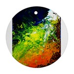 Abstract Landscape Ornament (Round)  Front