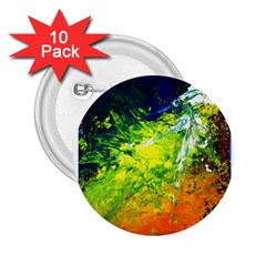 Abstract Landscape 2 25  Buttons (10 Pack)